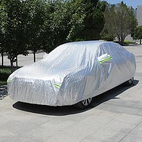 Bạt phủ xe ô tô tráng nhôm cao cấp dành cho ô tô, xe hơi nhiều kích thước cho các loại xe