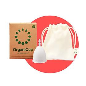 Cốc nguyệt san OrganiCup - ĐAN MẠCH - 100% silicone cấp Y tế - Chứng nhận FDA, Allergy, Vegan