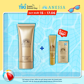 Kem chống nắng dạng gel bảo vệ hoàn hảo Anessa Perfect UV Sunscreen Skincare Gel 90g