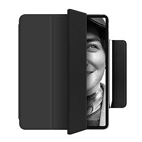 Bao Da Cover Nam Châm Dành Cho Apple Ipad Pro 12.9 Inch 2020 Quai Kẹp Apple Pencil 2