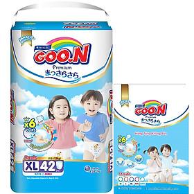 Tã Quần Goo.n Premium Gói Cực Đại XL42 (42 Miếng) - Tặng thêm 8 miếng cùng size-0