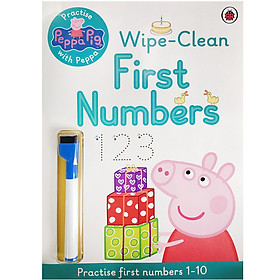 Peppa Pig - Practise With Peppa : Wipe-Clean First Numbers (Practise First Numbers 1 - 10)