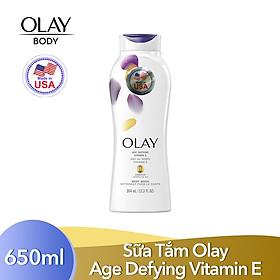 Sữa tắm Olay Body Wash - Age Defying Vitamin E (650ml)