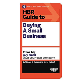Harvard Business Review Guide To Buying A Small Business