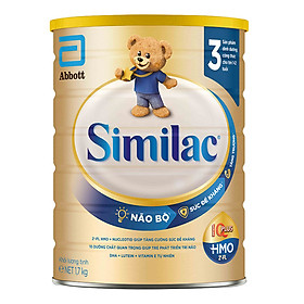 Sữa Bột Cho Bé Similac Eye-Q 3 HMO 1.7kg Gold Label
