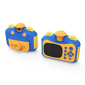 Instant Print Camera for Kids with Print Paper 2.4 Inch Screen 12MP Photo 1080p Video Recording Rechargeable Children