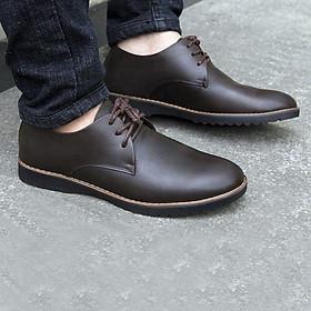 Giày Tây Nam Da Bò-Giày công sở-Giày buộc dây