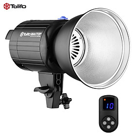 Tolifo MT-60S 60W 5600K LED Continuous Video Light Studio Lamp CRI 96+ Bowens Mount with LCD Display Remote Control Lamp
