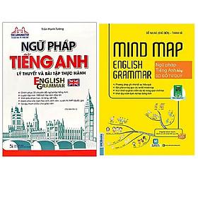 Combo Ngữ Pháp Tiếng Anh Lý Thuyết Và Bài Tập Thực Hành+Mindmap English Grammar - Ngữ Pháp Tiếng Anh Bằng Sơ Đồ Tư Duy