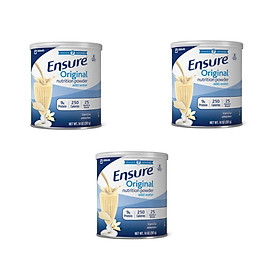 Combo 3 Hộp Sữa bột Ensure Original Nutrition Powder (397g)