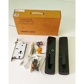 Khóa cửa thông minh mở bằng vân tay, thẻ từ, mật khẩu và chìa khóa cơ