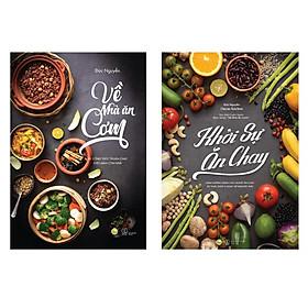 Sách - Combo Về nhà ăn cơm và Khởi sự ăn chay  (tặng kèm bookmark)