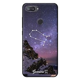 Ốp in cho Xiaomi Mi 8 Lite Cung Hoàng Đạo - Gemini - Hàng chính hãng