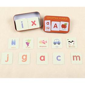 Cognition puzzle - Trò chơi nhận biết theo phương pháp giáo dục sớm cho trẻ em với các chủ đề bảng chữ cái, số đếm, màu sắc, hình dạng, đồ vật.