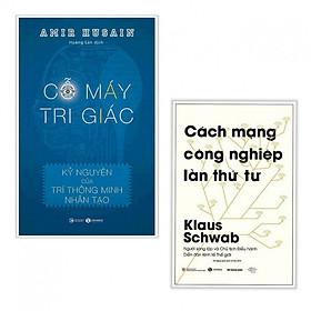 Combo Sách Kinh Tế Cực Hay: Cỗ Máy Tri Giác + Cách Mạng Công Nghiệp Lần Thứ Tư (Tặng Bookmark Thiết Kế)