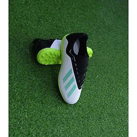 Giày đá bóng cổ thun X18.6 Trắng