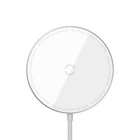 Sạc không dây Baseus Simple Mini Wireless Charger IP 12 - Hàng Chính Hãng
