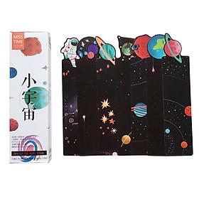 Hộp 30 Bookmark Đánh Dấu Sách Vũ Trụ Huyển Ảo BM-0036