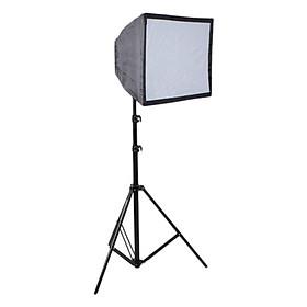 Bộ Chân Đèn Softbox Chụp Sản Phẩm E27 50x70cm - Hàng Nhập Khẩu