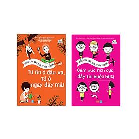 Combo 2 cuốn sách giúp bé hoàn thiện tính cách: Những cuốn sách thần kỳ của Filliozat - Cảm xúc tích cực, đẩy lùi buồn bực! +  Những cuốn sách thần kỳ của Filliozat - Tự tin ở đâu xa, tớ ở ngay đây mà!