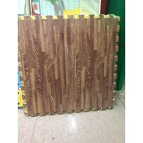 6 tấm Thảm vân gỗ 60x60cm