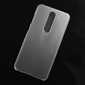 Ốp lưng dành cho Nokia X5, Nokia 5.1 Plus nhựa cứng nhám trong