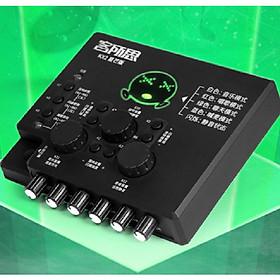 Sound Card hát Karaoke Live stream XOX KX-2S Hàng Nhập Khẩu