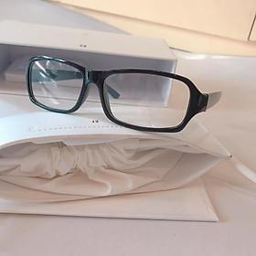 Gọng kính/Kính giả cận mắt vuông basic nhựa cho nam và nữ