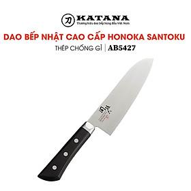 Dao bếp Nhật cao cấp KAI Honoka Santoku - Dao thái đa năng AB5427 (165mm) - Dao bếp Nhật chính hãng