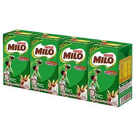 Hình đại diện sản phẩm Sữa Nestle Milo Nước 12 (4x115ml)