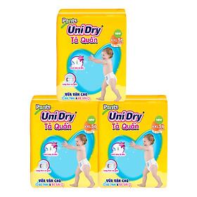 Combo 3 Tã Quần Unidry Ultra Jumbo XXL56 (56 Miếng)