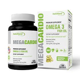 Thực phẩm chức năng Dầu cá omega 3 Mega Cardio