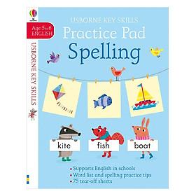 Usborne Key Skills Practice Pad: Spelling 5-6