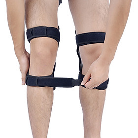 1 pair of support knee pads breathable non-slip articulation support knee lift booster-5