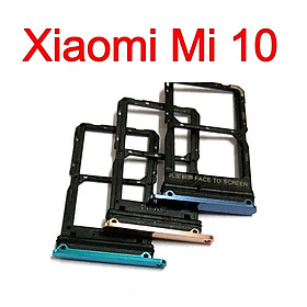 Khay Sim Thẻ Nhớ Cho Xiaomi Mi 10 Linh Kiện Thay Thế