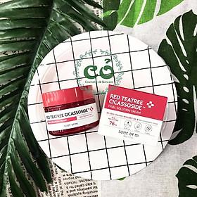 em Dưỡng Giảm Mụn, Phục Hồi Da Cho Da Nhạy Cảm Some By Mi Red Tea Tree Cicassoside Final Solution Cream