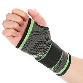 Wrist Support Sleeve Half-Finger Wrist Band Wrist Palm Support Brace Compression Wrist Sleeve for Men Women