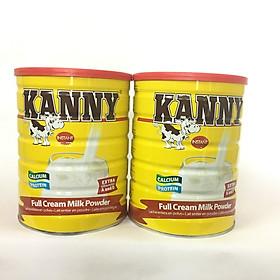Combo 2 hộp Kanny sữa cao năng lượng 500 Kcalo/100 Gr, nguyên kem, bổ sung dinh dưỡng từ 1 tuổi trở lên (900g)