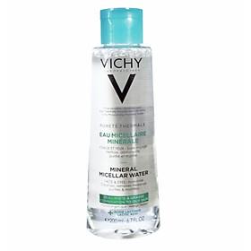 Tẩy trang da dầu & hỗn hợp Vichy Mineral Micellar Water (200ML)
