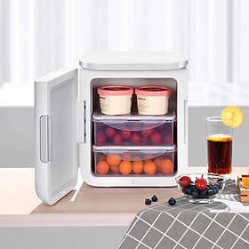 Tủ lạnh mini Baseus 6L Tủ lạnh đa chức năng Sưởi ấm và Làm lạnh với Dây nguồn AC / DC
