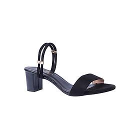 Giày Sandal Cao Gót Đế Vuông Thời Trang Erosska ER005 - Đen