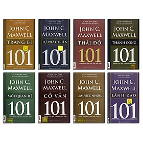 Bộ 8 cuốn sách 101 những điều nhà lãnh đạo nào cũng cần để thành công ( tặng sổ tay mini dễ thương KZ)