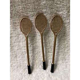 Hình đại diện sản phẩm Combo 3 cây bút hình cây vợt màu vàng