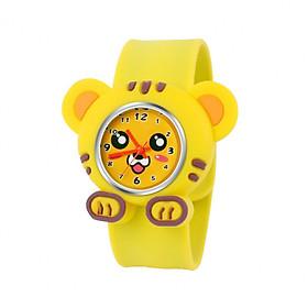 Đồng hồ Silicon chú Hổ vàng đáng yêu cho bé