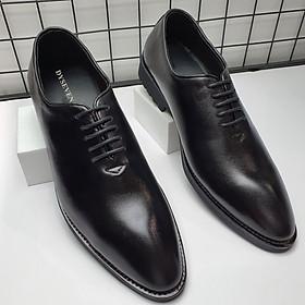 Giày Tây Nam Da Bò Thật Công Sở Cao Cấp, Mẫu Mới Sang Trọng, Đẳng Cấp