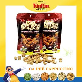 Đậu Phộng cà phê Cappuccino Tân Tân - Combo 5 gói ( 40g x5)