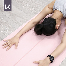 Thảm Tập Yoga Bằng TPE Chống Trượt (Dày 6mm)-1