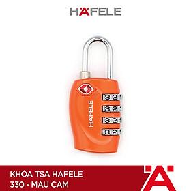 Khóa TSA Hafele 330 màu cam - 482.09.008 (Hàng chính hãng)