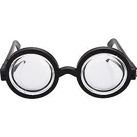 Party Glasses Dress Up Glasses Fashion Plastic Circular Halloween Decoration