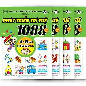 [Download sách] Combo 4 Cuốn 1088 Câu Đố Phát Triển Trí Tuệ Cho Bé 4-5 Tuổi